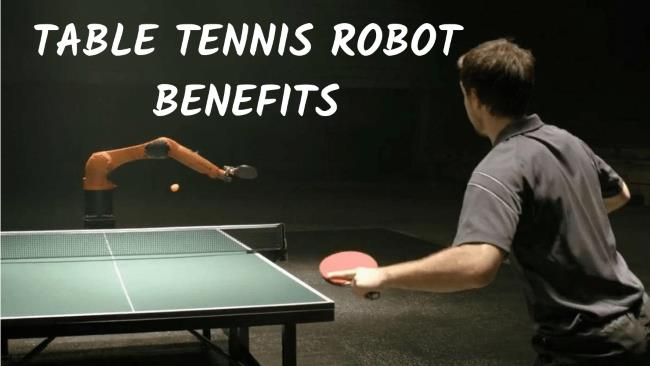Benefits of Practicing with a Table Tennis robot practice tennis alone