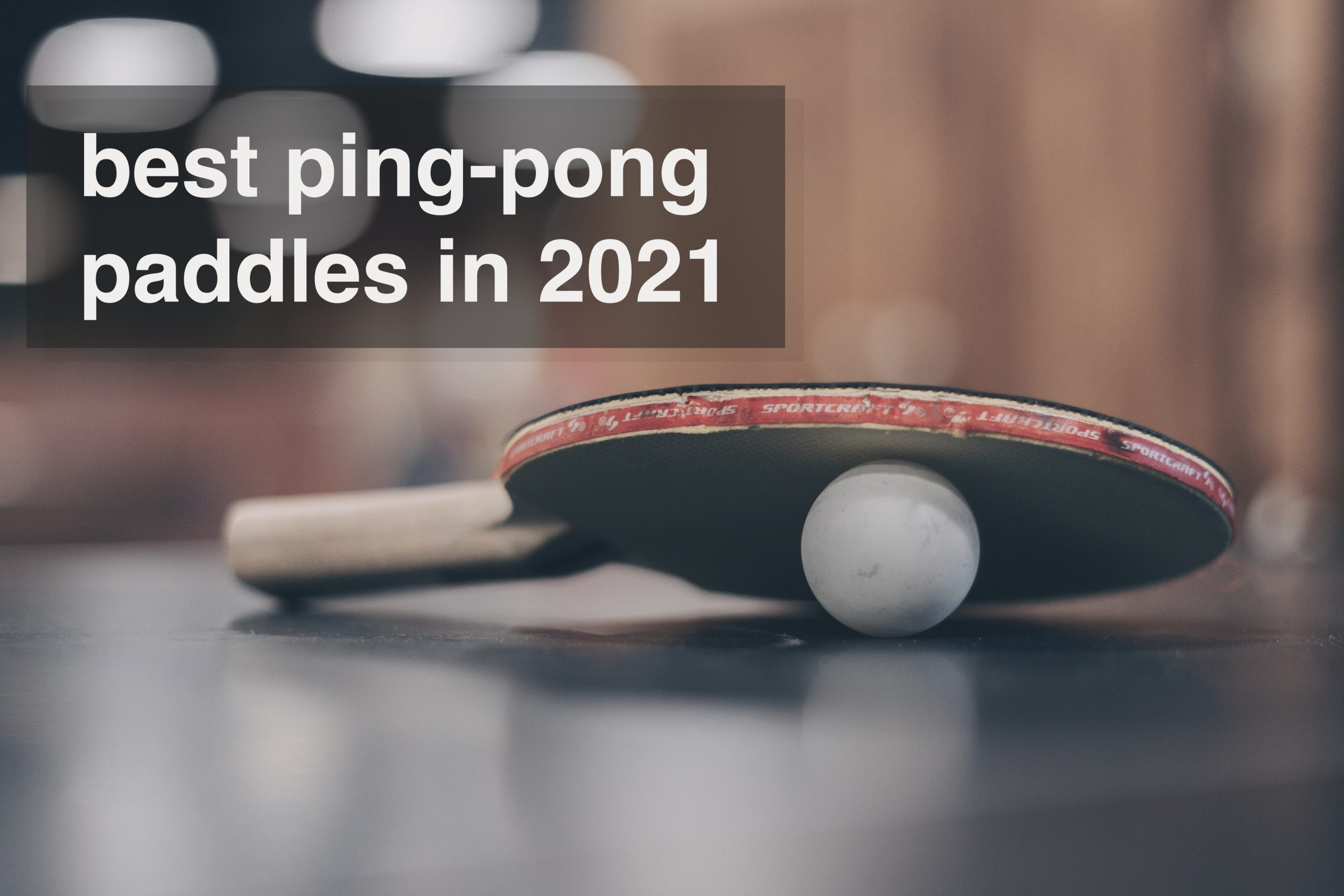 Best Ping Pong Paddles – Top Table Tennis Rackets 2021