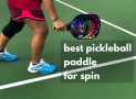 The Best Pickleball Paddle for Spin Shots and Control