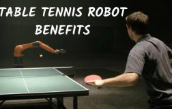 8 Benefits of Practicing with a Table Tennis Robot
